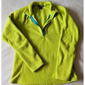 Eddie Bauer 1/4 Zip Fleece Pullover - M